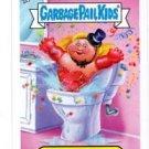 Toilet Trish Trading Card 2013 Topps Garbage Pail Kids Minis #84b