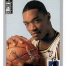 Carlos Rogers Silver Signature SP 1994-95 Upper Deck Collector's Choice #328