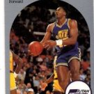 Karl Malone Trading Card Single 1990 Hoops #292 Jazz