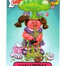 Leaky Lindsey Adam Bomb Don't Push Button 2015 Topps Garbage Pail Kids #3a