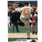Sidney Ponson Trading Card Single 2003 Fleer Double Header #43 Orioles