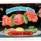 Shish K Bob Sticker 1986 Topps Garbage Pail Kids #245a