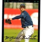Miguel Batista Red Back SP Trading Card 2007 Topps #13 Mariners