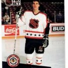 Luc Robitaille Trading Card Single 1991-92 Pro Set French #286 Kings