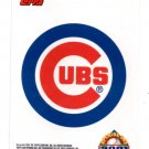 Cubs Sticker Trading Card Insert  2001 Topps Opening Day #6