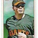 Edgar Renteria Trading Card Single 2009 Topps 206 #136 Giants