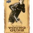 Adam Cristman Young Guns RC Trading Card 2008 Upper Deck #YG7 Revolution