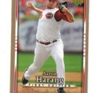 Aaron Harang Trading Card Single 2007 UD First Edition #198 Reds