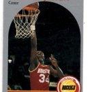 Akeem Olajuwon Trading Card Single 1990 Hoops #127 Rockets