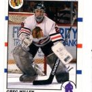 Greg Millen Trading Card Single 1990-91 Score Canadian #42 Blackhawks