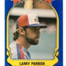 Larry Parrish Trading Card Single 1981 Fleer Star Sticker #69 Expos