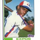 Tim Raines Trading Card Single 2004 Topps All Time Fan Favorites #115 Expos