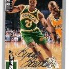 Byron Houston Silver Signature 1994-95 Upper Deck #321 Sonics