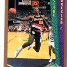 Clyde Drexler Slam Dunk Trading Card 1992-93 Fleer #270 Blazers