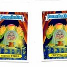 Crystal Ball Fortune Terra 2013 Topps Garbage Pail Kids Minis #43a #43b