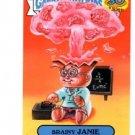 Brainy Janie Adam Bomb Don't Push Button 2015 Topps Garbage Pail Kids #9a