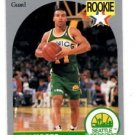 Dana Barros Trading Card Single 1990-91 Hoops #274 Supersonics