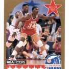 Akeem Olajuwon Trading Card 1990 Hoops #23 Rockets ASG