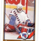 Mike Richter Trading Card Single 1991-92 OPC #91 Rangers