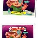 Contact Carl Eyeball Paul Trading Card Lot 2013 Topps Garbage Pail Kids 42a 42b