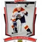 Olli Jokinen Trading Card Single 2007-08 MVP #191 Panthers