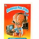 Jenny Genius License Back Sticker 1985 Topps Garbage Pail Kids UK Mini #27b