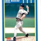 Mike Mussina Trading Card Single 2003 Fleer Platinum #157 Yankees