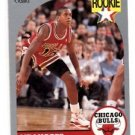 B.J. Armstrong RC Trading Card Single 1990 Hoops #60 Bulls