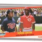 Kirby Puckett Eric Davis Trading Card Single 1989 Fleer #639 SS