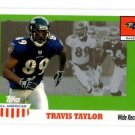 Travis Taylor Trading Card Single 2003 Topps All American #38 Ravens