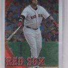 David Ortiz Baseball Trading Card Single 2010 Topps Chrome #128 Red Sox