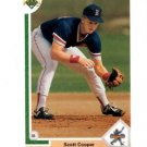 Scott Cooper RC Trading Card Single 1990 Upper Deck #22 Red Sox