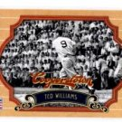 Ted Williams Trading Card Single 2012 Panini Cooperstown #58 Red Sox
