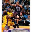 Jason Williams Trading Card Single 2000-01 Stadium Club #62 Kings