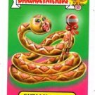 Ruth Rattlesnake Shelly Serpent Pets 2015 Topps Garbage Pail Kids #7a #7b