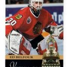 Ed Belfour Vezina Trophy 1993-94 Pinnacle #224 Blackhawks