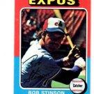 Bob Stinson Trading Card Single 1975 Topps #471 Expos EXMT