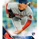 Henry Owens RC Trading Card Single 2016 Topps #109 Red Sox