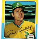 Paul LIndblad Trading Card Single 1975 Topps #278 Athletics EXMT