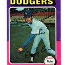 Doug Rau Trading Card Single 1975 Topps #269 Dodgers EX