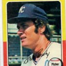 Steve Busby Trading Card Single 1975 Topps #120 Royals EXMT