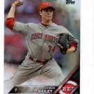 Homer Bailey Rainbow Foil Parallel SP 2016 Topps #222 Reds