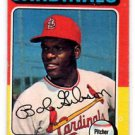 Bob Gibson Trading Card Single 1975 Topps #150 Cardinals VGEX