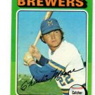 Charlie Moore Trading Card Single 1975 Topps #636 Brewers EX+