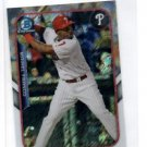 Maikel Franco Farms Finest Insert 2015 Bowman Chrome #FFMMFR Phillies