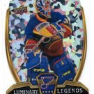 Curtis Joseph  Luminary Legends Trading Card 2015-16 UD Overtime #LL25 Blues