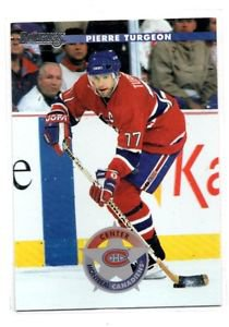 Pierre Turgeon Trading Card Single 1996-97 Donruss #17 Canadiens