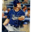 John Jaso Gold Parallel SP 2016 Topps #192 Rays 0155/2016