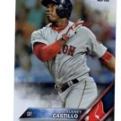 Rusney Castillo Rainbow Foil Trading Card Single 2016 Topps #75 Red Sox