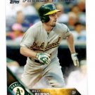Billy Burns Future Stars Trading Card Single 2016 Topps #224 Athletics